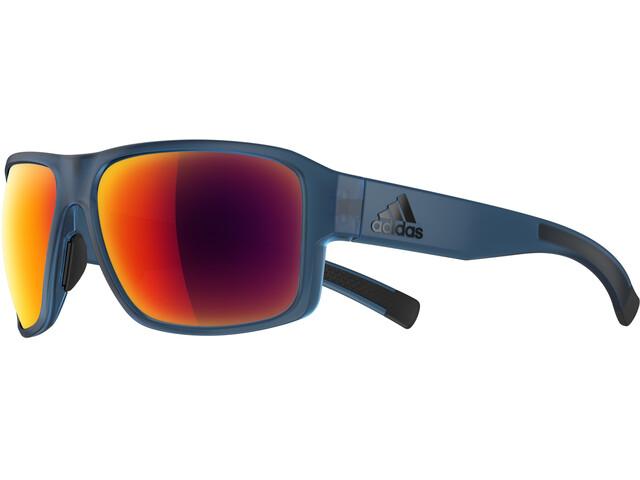 adidas Jaysor Sunglasses, blue matt/red